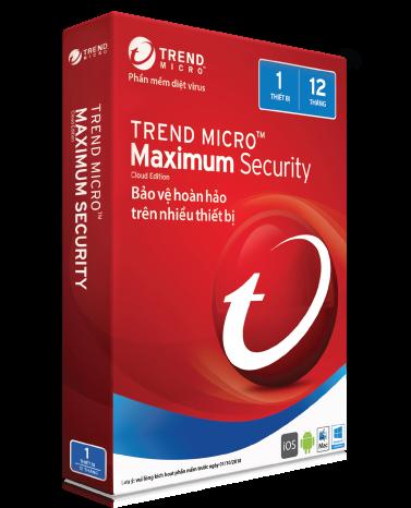 Trend Micro Maximum Security 11 (2017)