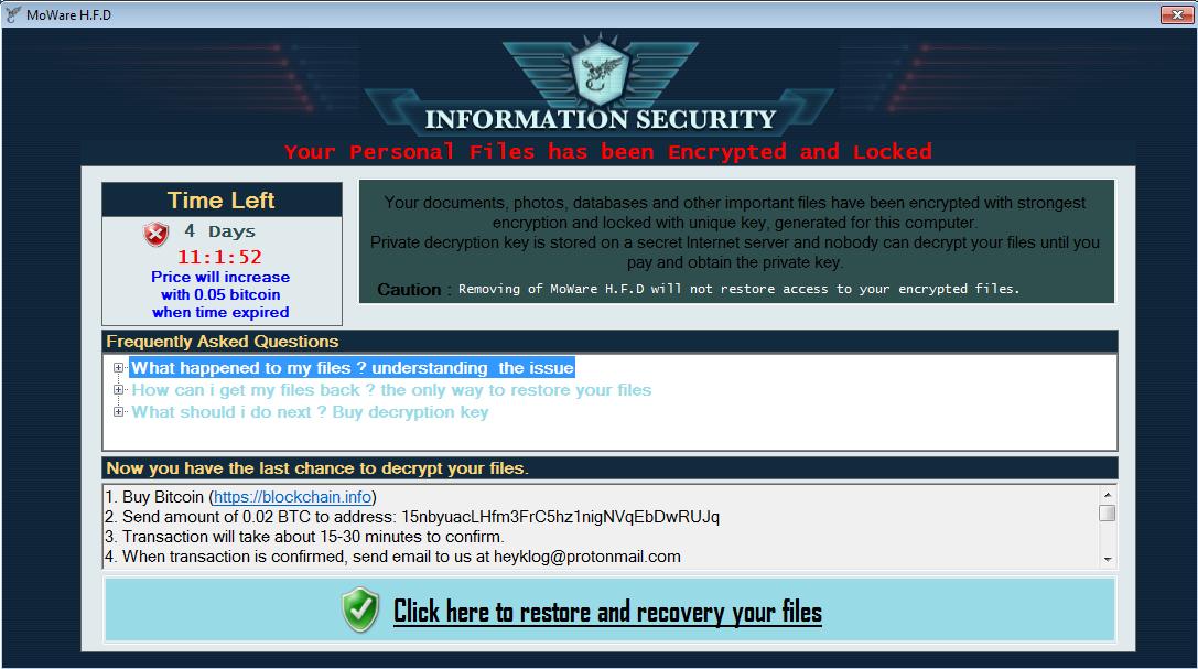 Bản tin của phần mềm diệt virus Trend Micro: Sự phát triển liên tục của các phiên bản Hidden Tear