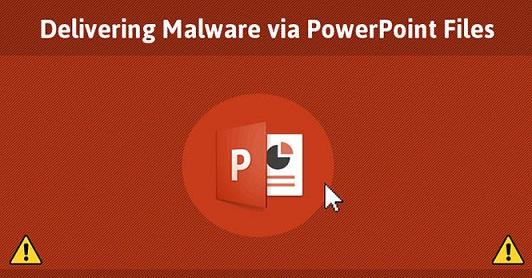Cảnh báo PowerPoint cài đặt phần mềm độc hại không cần macro