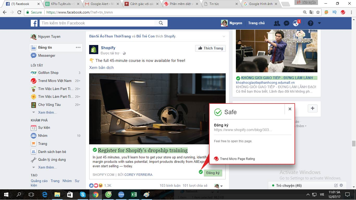Trend Micro cảnh báo: Bạn nên cảnh giác với các chia sẻ tin giật gân, câu khách trên Facebook