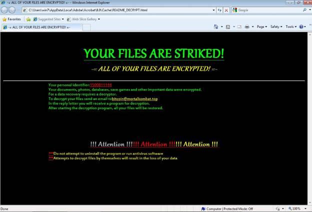 Ransomware Recap: Mozilla Thunderbird có thể được sử dụng để lây nhiễm Ransomware độc hại
