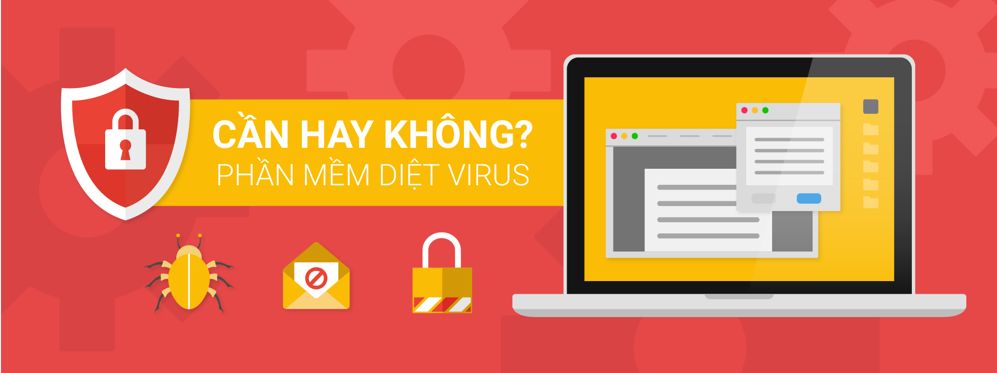 Có thật sự cần thiết cài phần mềm diệt virus không?