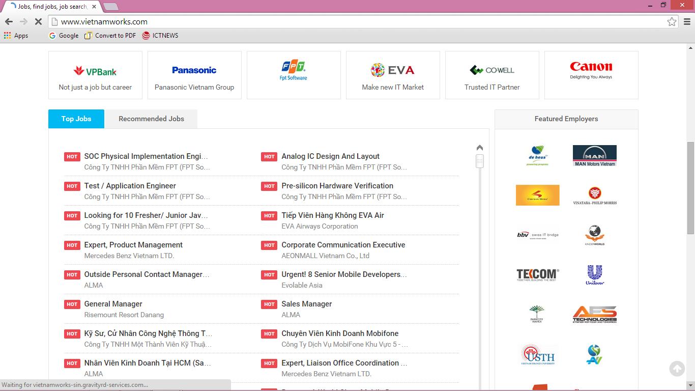 Vietnamworks bị tấn công, lộ thông tin tài khoản hàng chục nghìn người dùng