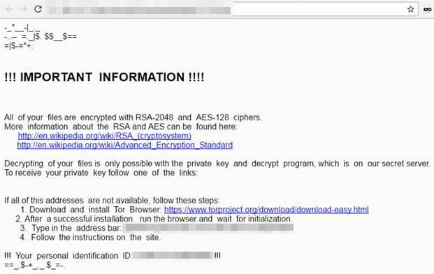 Locky có các biến thể mới, chiến dịch spam khổng lồ đang tiến hành