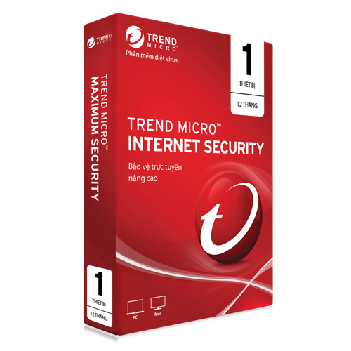 Trendmicro Internet Security cho 1 máy