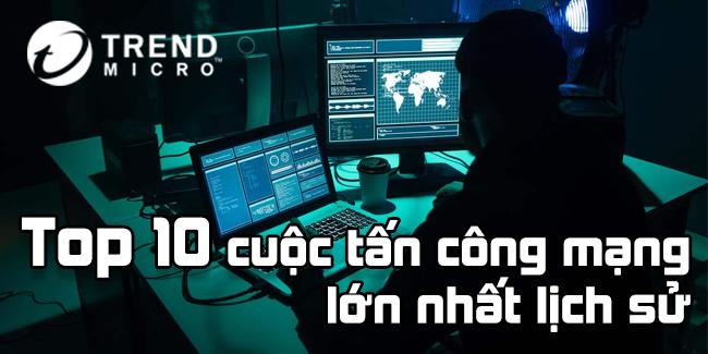 10 Vụ Tấn Công Internet Lớn Nhất Lịch Sử