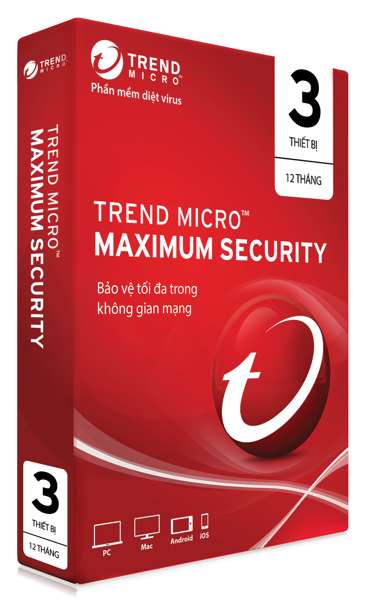 Trend Micro Maximum Security - 3PC