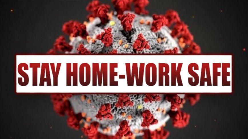 Thông báo làm việc tại nhà